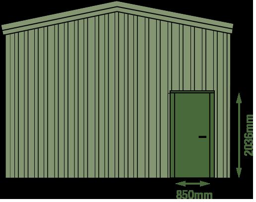 personal access door