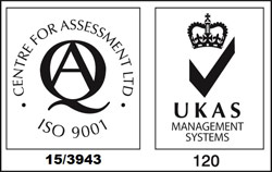 ISO 9001 Certificate No. 15/3943