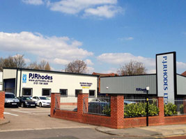 PJ Rhodes Vehicle Repair Centre Commercial Steel Buildings