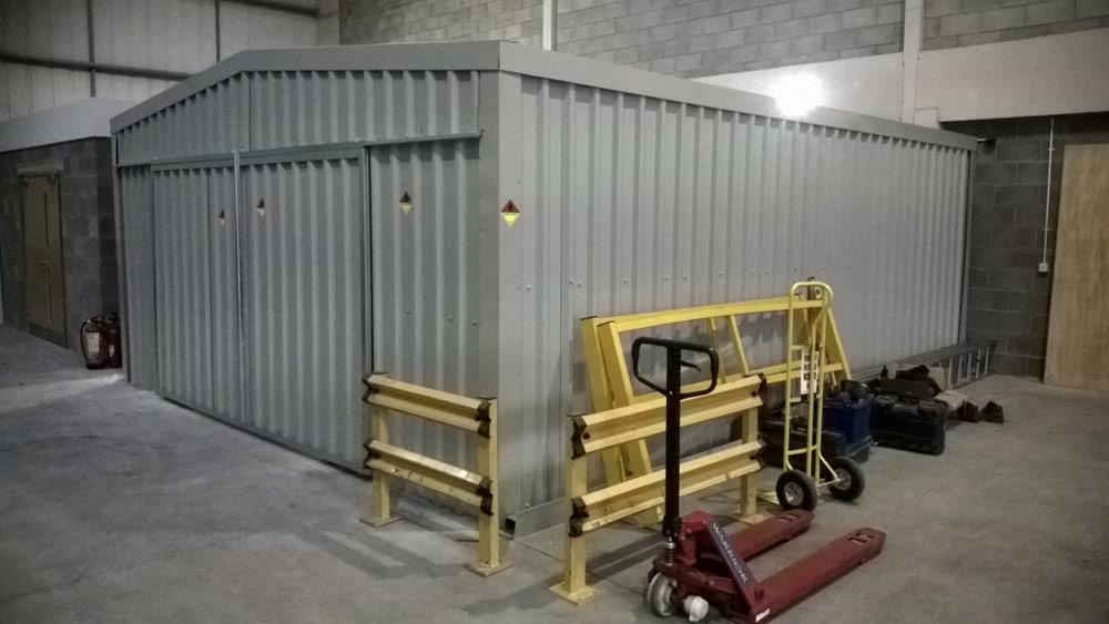 Indoor Storage Building Doors