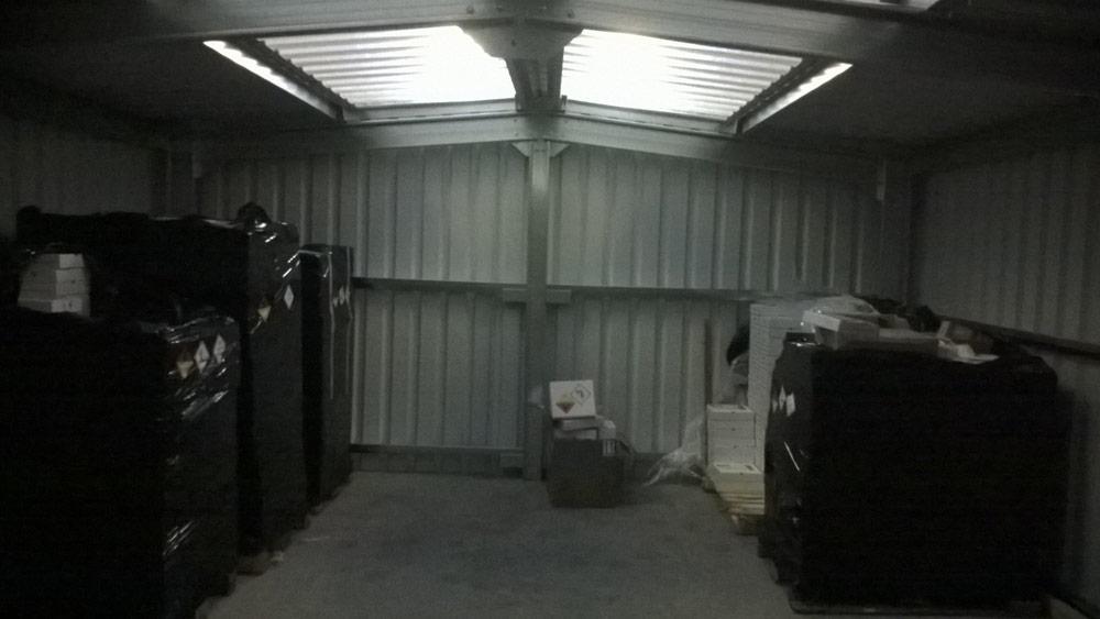Indoor Storage Building