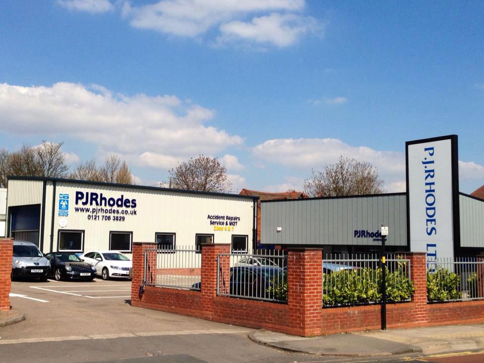 PJ Rhodes Building