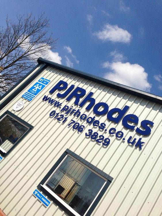 PJ Rhodes Steel Building Front