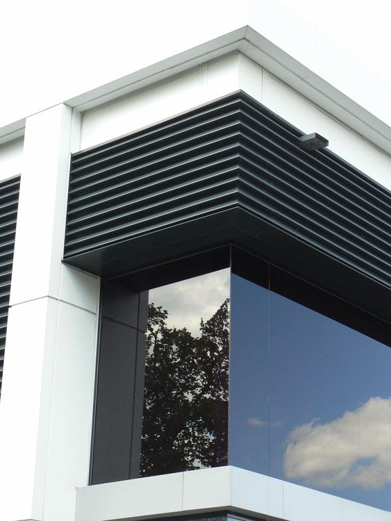 Sytner Birmingham Side Window