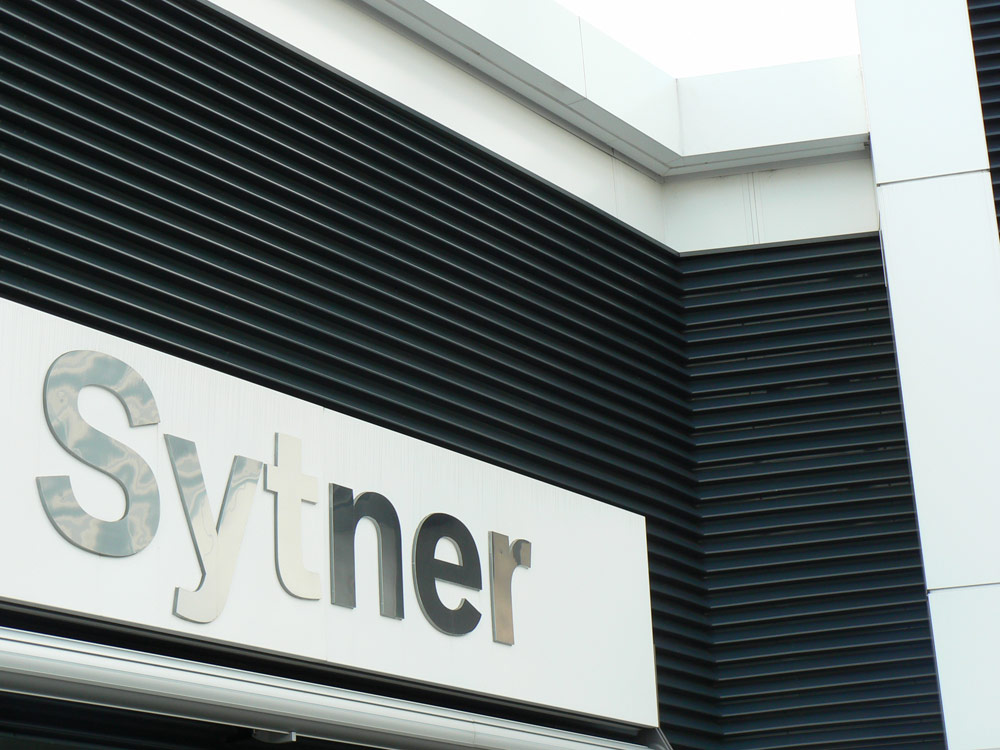 Sytner Birmingham Cladding